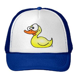 Pato de goma gorra