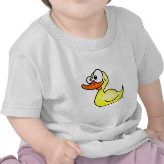 Pato de goma camisetas