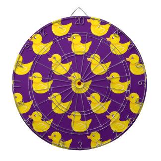 Pato de goma púrpura y amarillo, Ducky Tabla Dardos