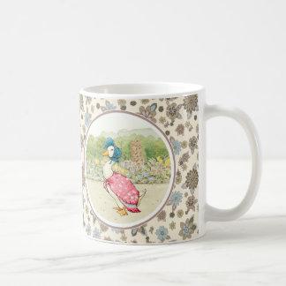 Pato de Jemima de Beatrix Potter. Tazas del regalo