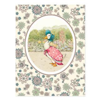 Pato de Jemima por las postales de Beatrix Potter.