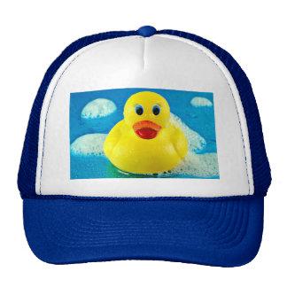 Pato de la burbuja gorras