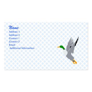 Pato de la cizaña tarjeta de visita
