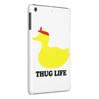 Pato de la vida del gamberro funda de iPad mini