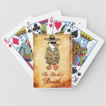 Pato de los naipes de la muerte baraja cartas de poker