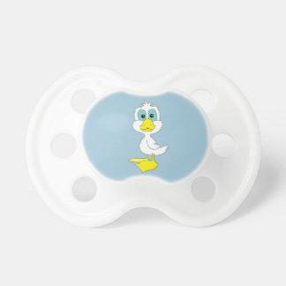 Pato del bebé chupetes
