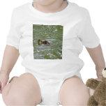Pato del bebé traje de bebé