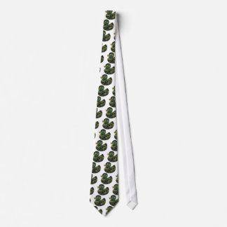Pato del caucho del camuflaje corbatas personalizadas