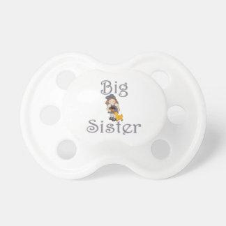 Pato del chica del país de la hermana grande chupetes para bebés