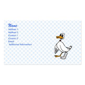 Pato del desastre tarjeta personal