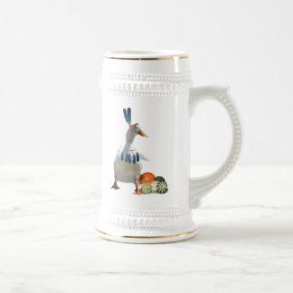 Pato del indio de la acción de gracias tazas de café