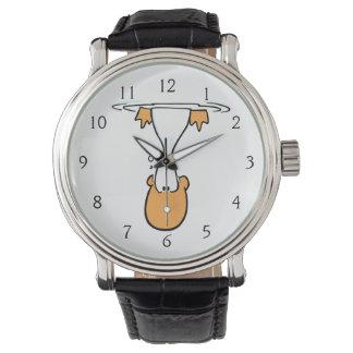 Pato del pantano subacuático reloj