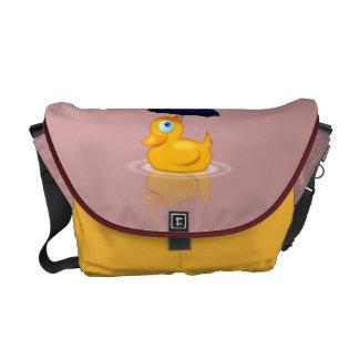 Pato del paraguas bolsas messenger