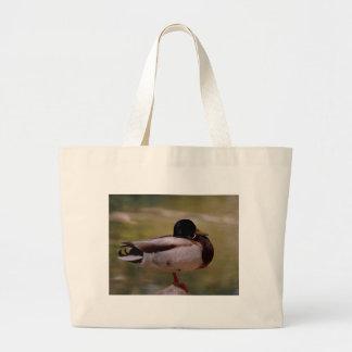 Pato del pato silvestre bolsa de mano