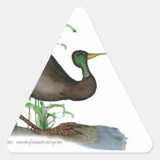 pato del pato silvestre, fernandes tony calcomanías de triangulos personalizadas
