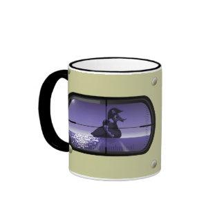Pato del pirata torpedeado taza de café