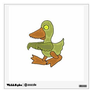 Pato divertido del zombi