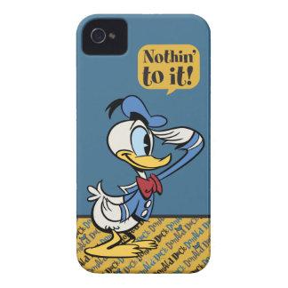 Pato Donald 3 iPhone 4 Cárcasas
