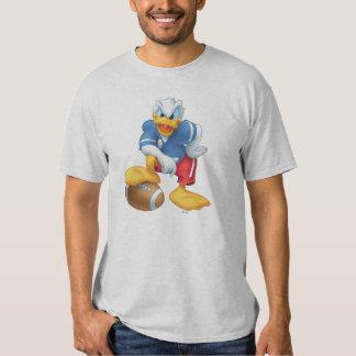 Pato Donald del fútbol Playera