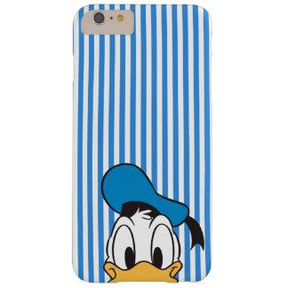 Pato Donald del peekaboo Funda De iPhone 6 Plus Barely There
