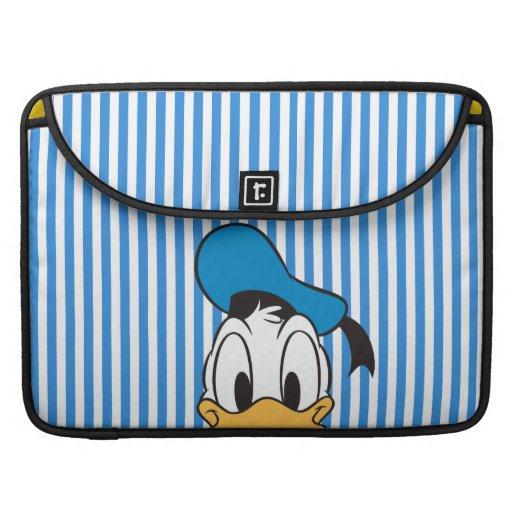 Pato Donald del peekaboo Funda Macbook Pro