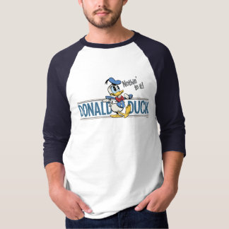 ¡Pato Donald - nada a él! Polera