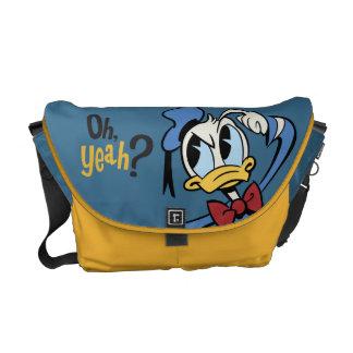 ¿Pato Donald - oh sí? Bolsa De Mensajeria