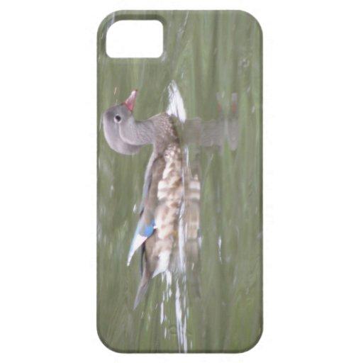 Pato en el caso del iPhone 5 del lago iPhone 5 Case-Mate Protectores