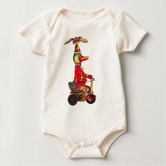 Pato en un Trike Mameluco De Bebé