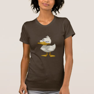 Pato en una camisa