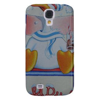 """""""Pato frío """" Funda Para Galaxy S4"""