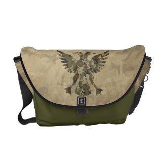 Pato heráldico bolsas de mensajeria