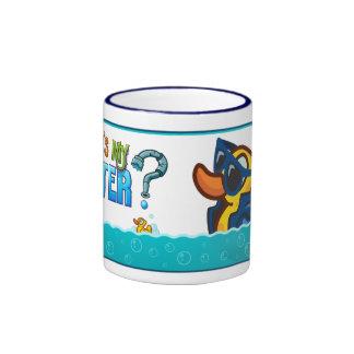 Pato impresionante taza
