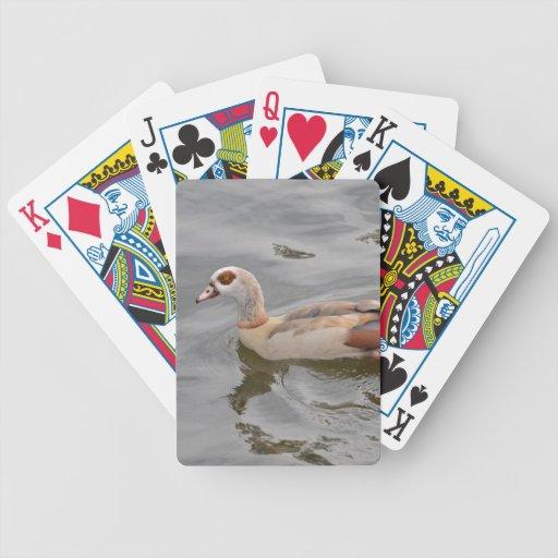 Pato inusual baraja cartas de poker