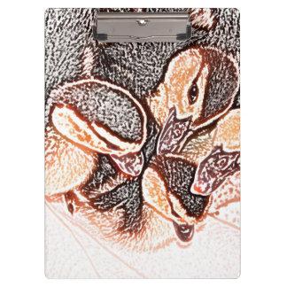 pato lindo del bebé del bosquejo de los anadones