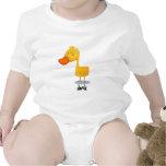 Pato lindo traje de bebé