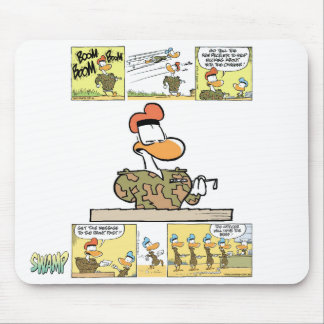 Pato Mousepad del ejército del pantano Tapete De Ratones