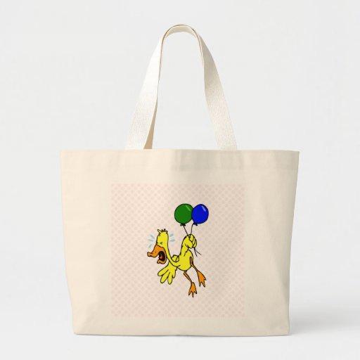 Pato narcotizado bolsa de mano