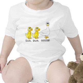 Pato, pato, ganso traje de bebé