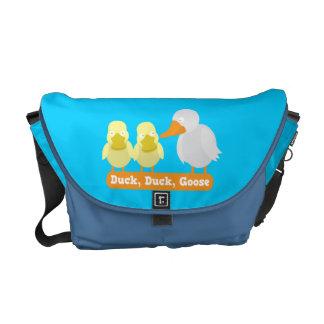 Pato, pato, la bolsa de mensajero del ganso bolsas de mensajería