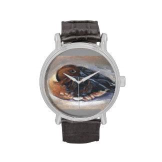 Pato que silba que vaga relojes de mano