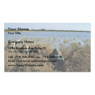 Pato rubicundo tarjetas de visita