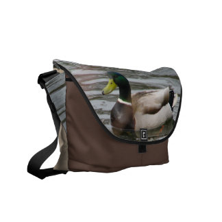 Pato silvestre bolsa de mensajeria