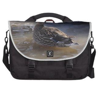 Pato silvestre femenino bolsas de portátil