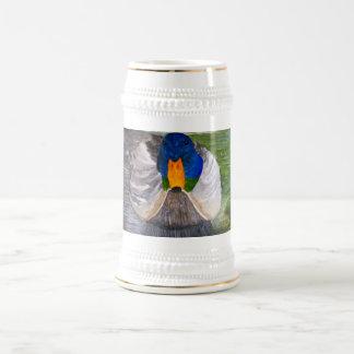 Pato silvestre masculino taza de café