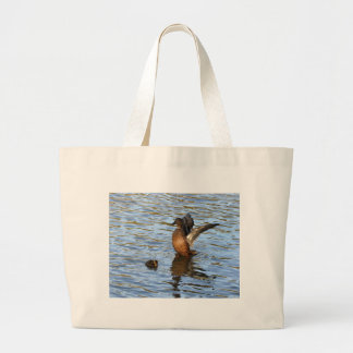 Pato silvestre y anadón femeninos bolsas