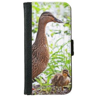 Pato silvestre y anadones de Shirley Taylor Carcasa De iPhone 6