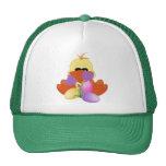 Pato, tulipanes, y camisetas y regalos de los gorras