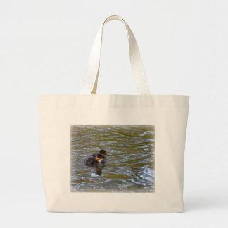 Pato y anadones femeninos del pato silvestre bolsas de mano