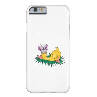 pato y mariposa lindos el dormir funda de iPhone 6 barely there